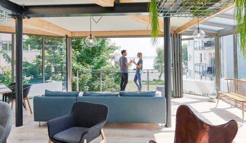 Low Carb Restaurant und Lounge mit Seeblick