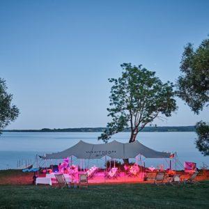 Hochzeit feiern am See außergewöhnliche Orte